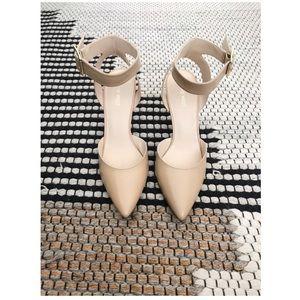 Like New Nine West Leather Heels